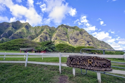 Kualoa Ranch on Oahu