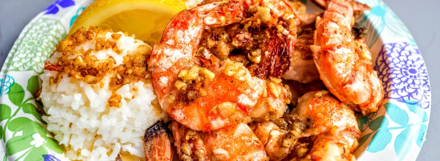Oahu Food Trucks and Garlic Shrimp