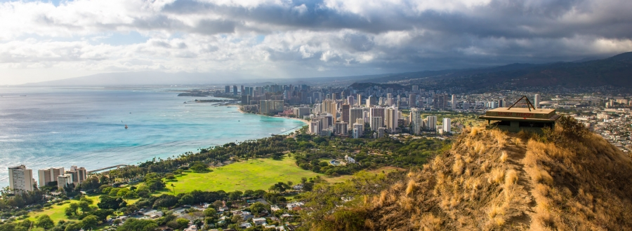 Diamond Head Crater - A Popular Oahu Attraction