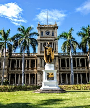 Iolani Palace on Oahu