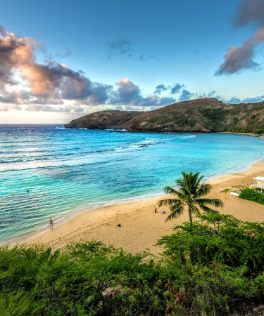 Hanauma Bay in Oahu