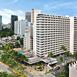 Day view of Ambassador Hotel Waikiki Beach