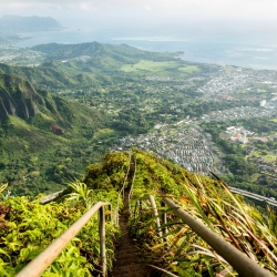 Stairway to Heaven - a stunning hiking spot on Oahu