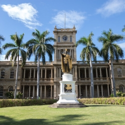 Iolani Palace - a popular Honolulu Attraction