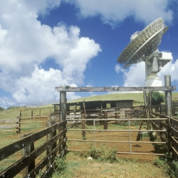 Paumalu Satellite Communications, an Oahu attraction