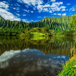 Ho'omaluhia Botanical Garden, an Oahu attraction