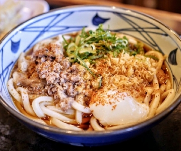 Bowl of Udon Noodles