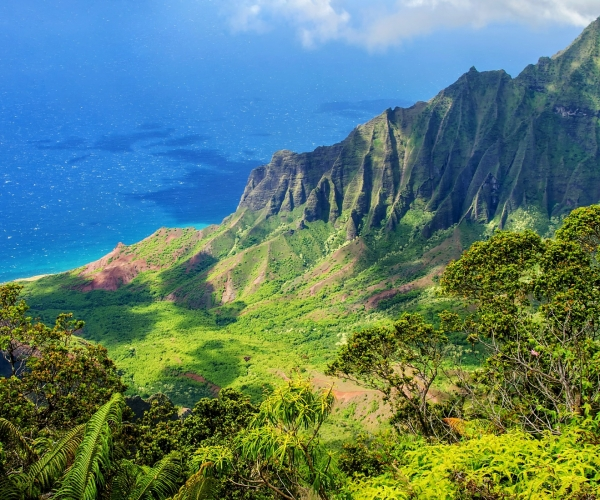 Beautiful mountain on Oahu