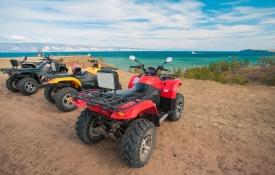 ATVs on the Beach, Oahu Activities