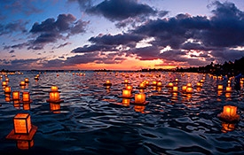 Lantern Floating Ceremony, Oahu Events