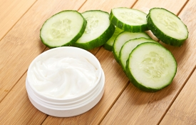 Cucumbers and Face Cream