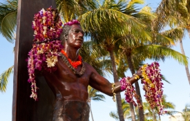 Statue of the Duke Kahanamoku Statue