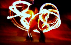 Fire Dancer - an Oahu Activity